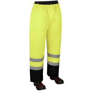 Class E - Rain pants with black bottom