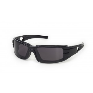 iNOX® Trooper™ - Gray anti-fog foam padded lens with black frame