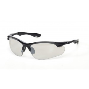 iNOX® Brea™ - Silver Mirror lens with Black frame