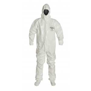 TyChem® SL Coverall with Outer Boot Flaps