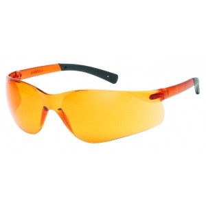 iNOX® F-II™ - Orange lens with Black temple tips