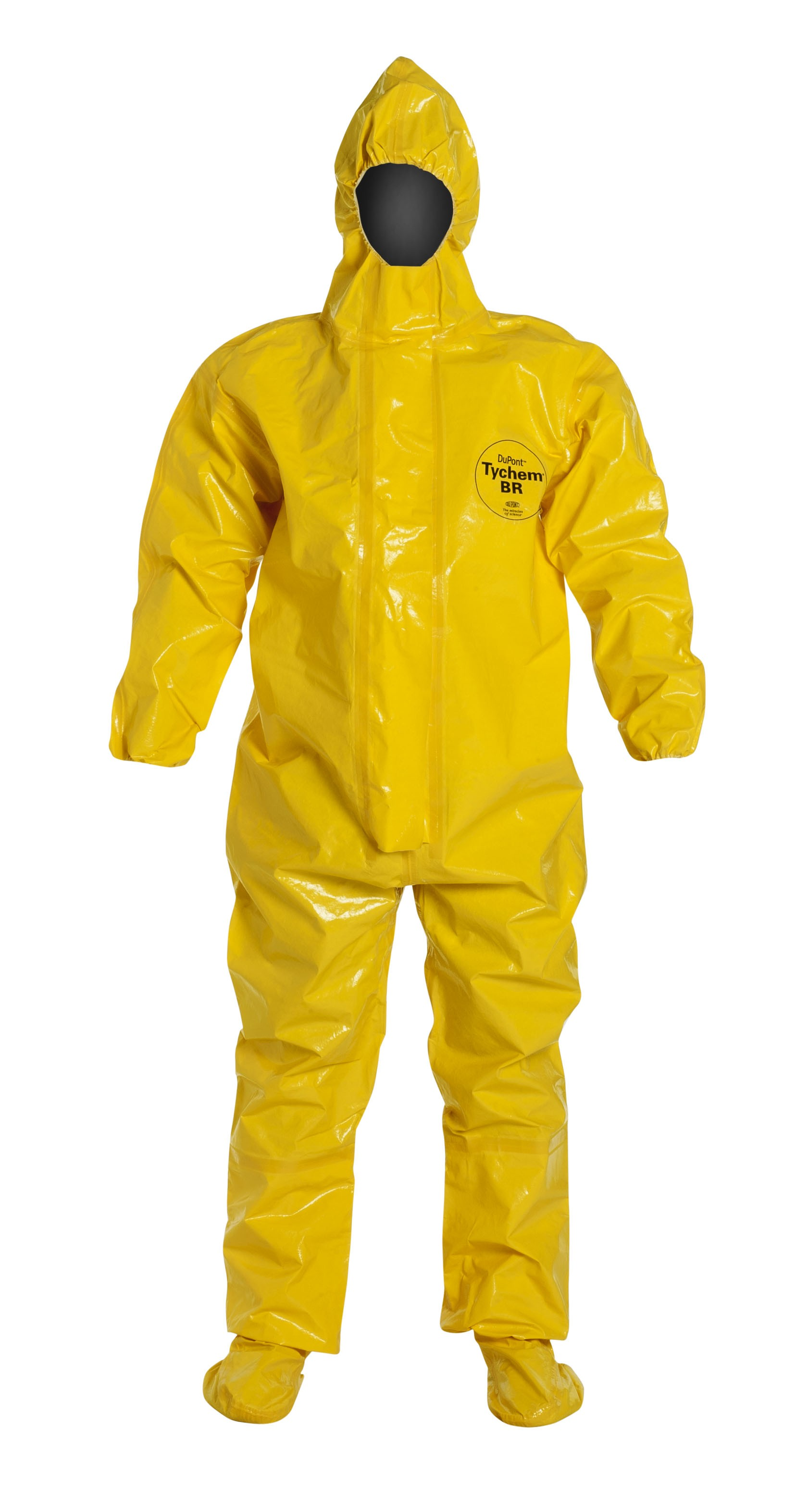 TyChem® BR/LV Coverall with Attached Socks