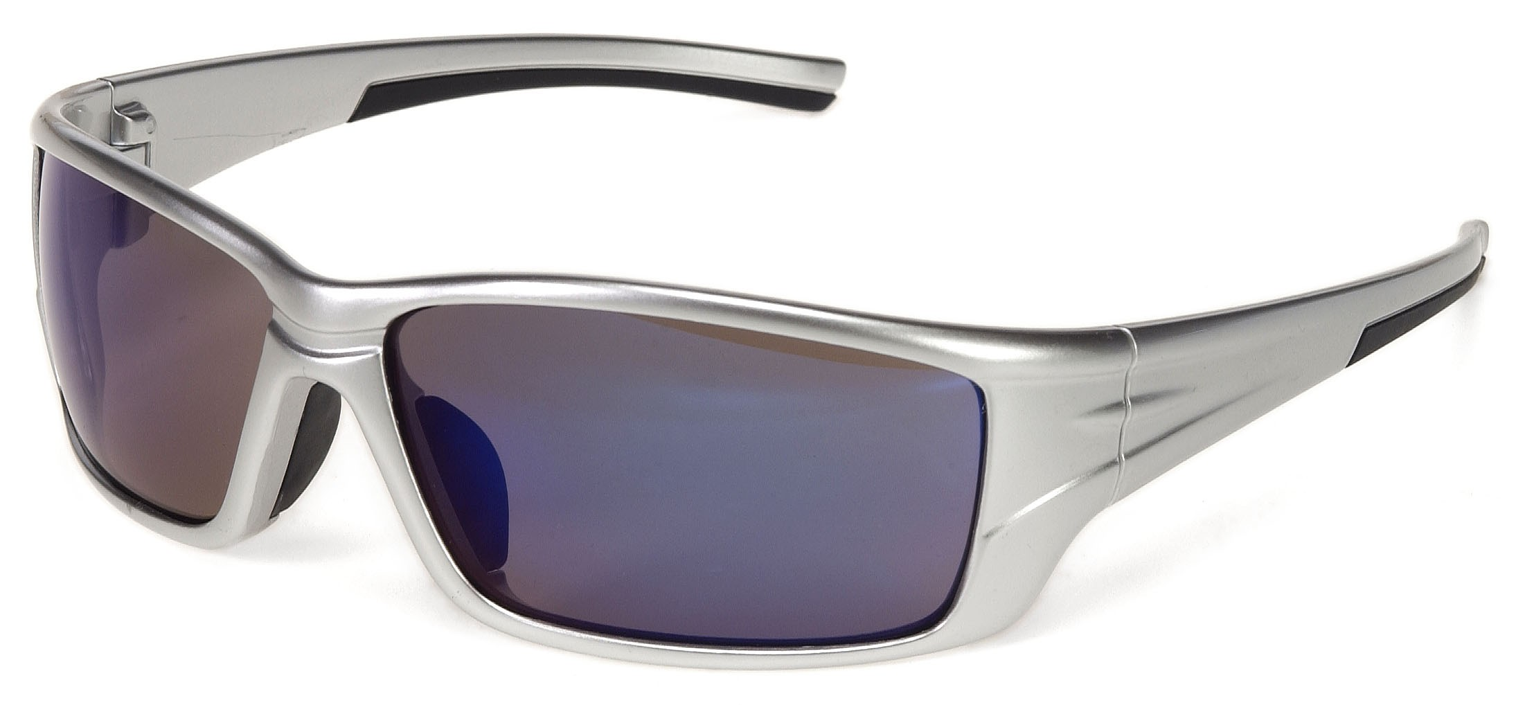 iNOX® Eclipse™ - Blue Mirror lens with Silver frame