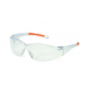 iNOX® F-III™ - Clear Lens With Black/Orange Frame