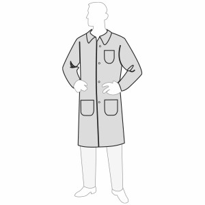 PermaGard™ Lab Coat - 3 Pockets