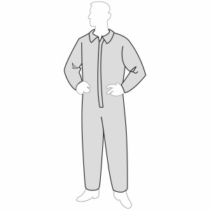 ProGard™ coverall - open wrists & ankles