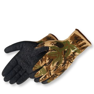 A-Grip® Textured Black Latex Coated (Camouflage)