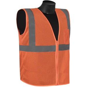 Class 2 - Safety vest (mesh with silver stripes)