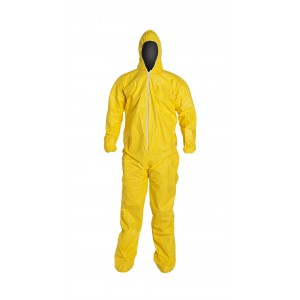 TyChem® QC coveralls attached hood - Serged Seams