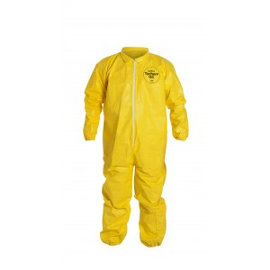 TyChem® QC coverall  elastic wrists & ankles - Serged seams