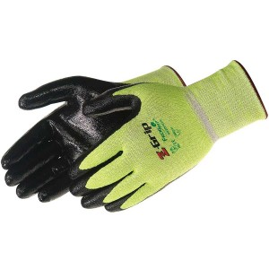 Z-Grip® Hi-Vis green seamless shell (nitrile coated)