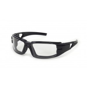 iNOX® Trooper™ - Clear anti-fog foam padded lens with black frame