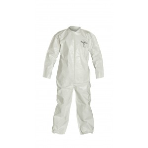 TyChem® SL coverall with open wrists & ankles - Bound Seams