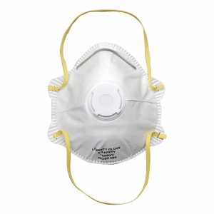 1895NV N95 Particulate Respirator with Exhalation Valve and Head Straps NIOSH approved N95 particulate respirators with exhalation valve provide the same features and compliant standards as above and include an exhalation valve for extra comfort in environments with warm temperatures to reduce air build-up.